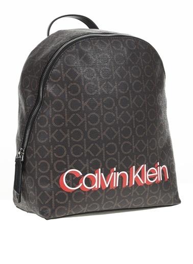 Calvin Klein Sırt Çantası Kahve